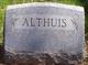 Profile photo:  John Althuis