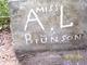 Profile photo:  A. L. Brunson