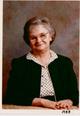 Profile photo:  Hazel Etoy <I>Rowell</I> Plunkett