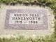 Marion Jean <I>Foss</I> Hanesworth