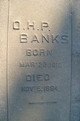 Oliver Hazard Perry Banks
