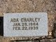 Profile photo:  Ada Charley