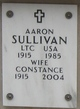 Profile photo: Lt Colonel Aaron Sullivan