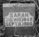 Sarah <I>Burch</I> Bozarth