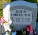 Profile photo:  Justin Allen Anderson, II