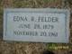 Edna <I>Robinson</I> Felder