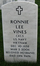 Ronnie Lee Vines