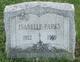 Sara Isabelle <I>Hall</I> Parks