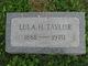 Lula H. Taylor