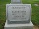 Anna Mary <I>F</I> Barrett