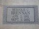 """Bernice Carol """"Bernie"""" <I>Clark</I> Brennan"""