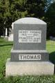 Frances Elizabeth <I>Huff</I> Thomas