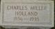 Charles Miller Holland