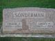 Mary Ann <I>Schunck</I> Sonderman