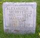 Profile photo:  Alexander Merryfield