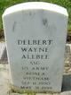 Delbert Wayne Allbee