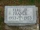 "Ferdinand Joseph ""Ferd"" Franck Jr."