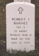 Profile photo:  Robert Irwin Barnes