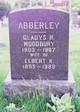 Profile photo:  Gladys R <I>Woodbury</I> Abberley