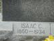 Isaac C Addison