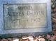 Althea <I>Roberts</I> Chapin
