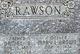 Mary Leah <I>Brown</I> Rawson