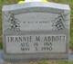 Profile photo:  Trannie Myrtle <I>Alexander</I> Abbott
