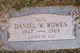 Profile photo:  Daniel W. Bowen