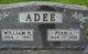 Profile photo:  Fern Agnes <I>Fagan</I> Adee