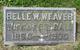 Profile photo:  Belle W <I>Weaver</I> Ball