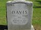 Bertha May <I>Ellett</I> Davis