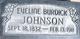 Eveline <I>Burdick</I> Johnson