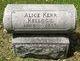 Alice J <I> </I> Kellogg,