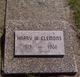 Harry W Clemons