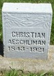 Profile photo:  Christian Aeschliman
