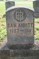Profile photo:  Sam Abbott