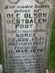 Ole Olson Bentdalen