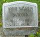 Profile photo:  Annie <I>Vaughn</I> Babcock