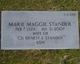Marie Maggie <I>Green Dawson</I> Stander