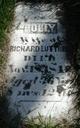 """Mary """"Polly"""" <I>Grove</I> Luttrell"""