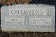"Profile photo:  Agatha K ""Agnes"" <I>Gottsacker</I> Chambers"
