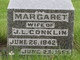 Margaret L <I>Black</I> Conklin