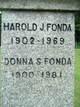 Profile photo:  Donna M. <I>Sisco</I> Fonda