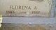 Florena Anabell <I>McHaney</I> Minor