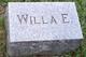 Willa Ethel Fletcher
