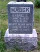 Mary Ann <I>Yeoman</I> Mauck