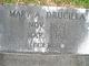 Mary Ann Drucilla <I>Proctor</I> Minor