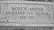 Woren Minor
