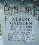 Profile photo:  Albert Gadsden