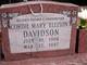 Profile photo:  Cordie Mary <I>Ellison</I> Davidson